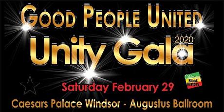 Good People Unity Gala at Caesars Palace Windsor tickets