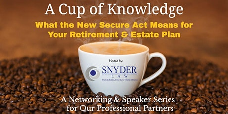 Cup of Knowledge Networking & Speaker Series (February 2020)  tickets