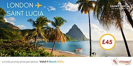 Nyammin' Caribbean Supper Club - Experience Saint Lucia tickets