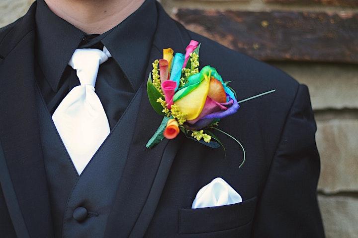 "Bolingbrook Pride's ""Over the Rainbow"" Black Tie (optional) Gayla image"