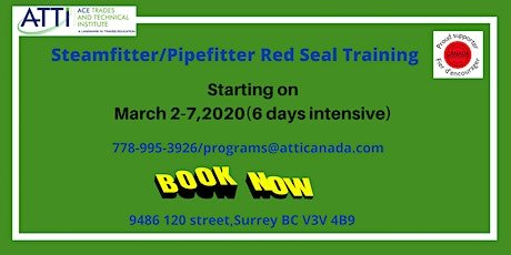 Steamfitter/Pipefitter Red Seal Course tickets