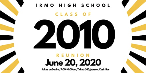 Irmo High School Class of 2010 Reunion