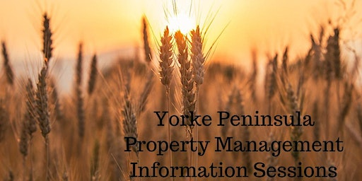 Regional - The Yorke Peninsula Property Management Information Session