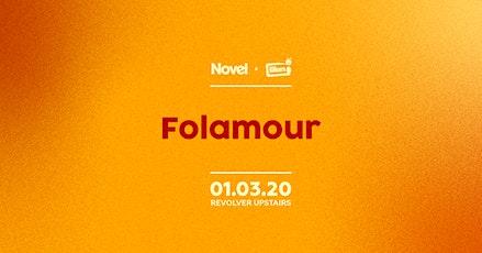 Novel Presents Folamour tickets