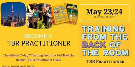 "Weekend ""Training from the Back of the Room"" tickets"