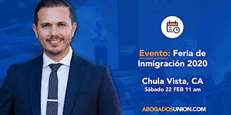 FERIA DE INMIGRACION EN CHULA VISTA, CA tickets