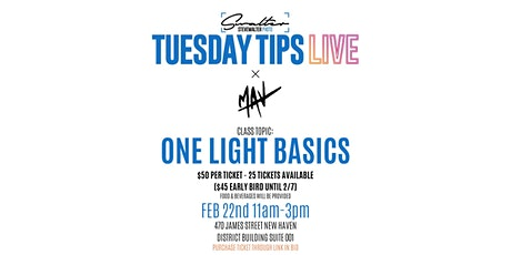 One Light Basics - Lighting Class tickets