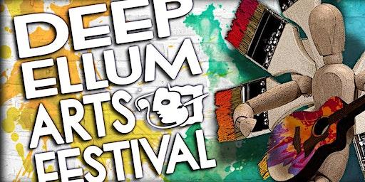 FREE EVENT - DEEP ELLUM ARTS FESTIVAL 2020