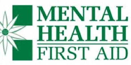 Youth Mental Health First Aid Portland tickets