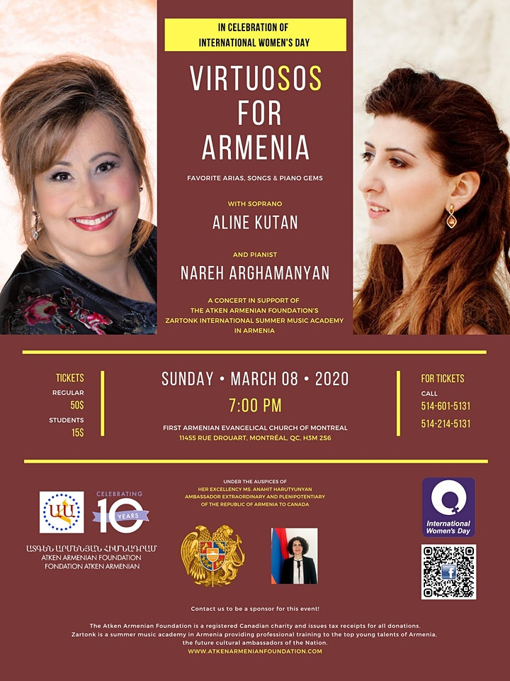 VirtuoSoS For Armenia: In Celebration of International Women's Day image