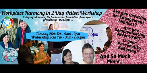 Workplace Harmony in Action -2 Day Workshop
