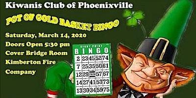 Phoenixville Kiwanis Pot of Gold Basket Bingo