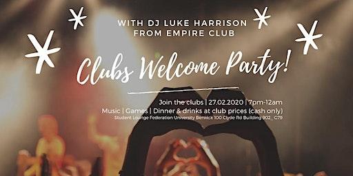 FedUni Berwick Oweek - Clubs Welcome Party
