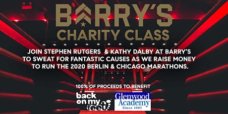 Stephen Rutgers & Kathy Dalby Barry's Bootcamp Charity Class tickets