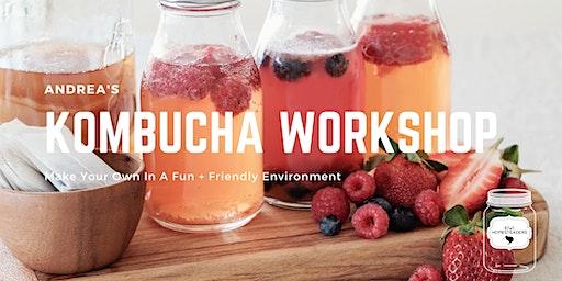 Andrea's Kombucha Workshop