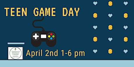 Teen Game Day tickets