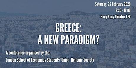 Greece: A New Paradigm? tickets