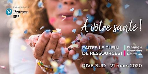 Événement Pearson ERPI - Rive-Sud -21 mars 2020