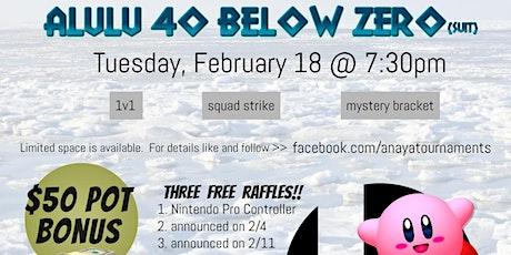 Alulu 40 Below Zero tickets