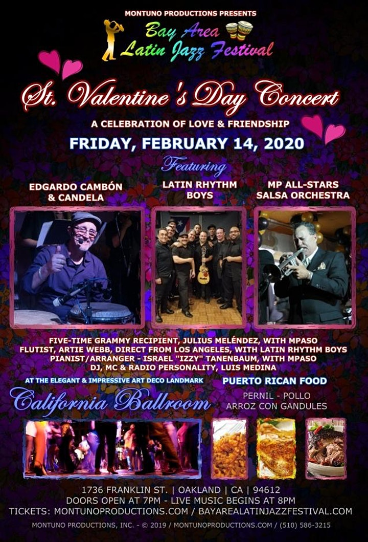 St. Valentine's Day Concert at the California Ballroom image