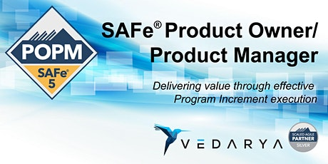 SAFe  5.0 Product Owner/Product Manager tickets