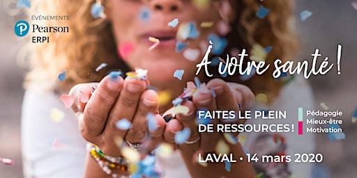 Événement Pearson ERPI - Laval -14 mars 2020