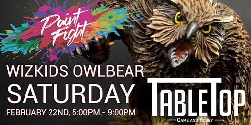 Owlbear Paint Fight