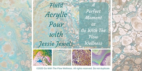 Fluid Acrylic Pour Workshop tickets