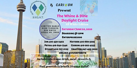 THE WHINE & DINE DAYLIGHT CRUISE tickets