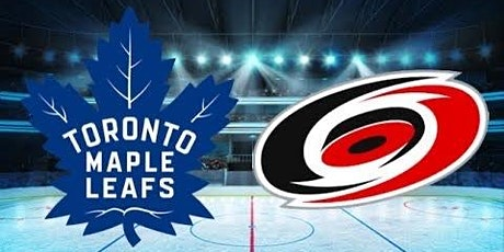 Toronto Maple Leafs vs. Carolina Hurricanes tickets