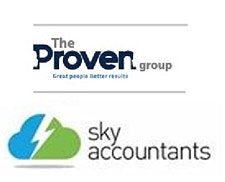 The Proven Group with Sky Accountants logo