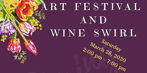 Spring Art & Wine Swirl Downtown Gladewater