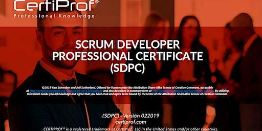 Capacitación gratuita en Scrum Developer Professional Certificate