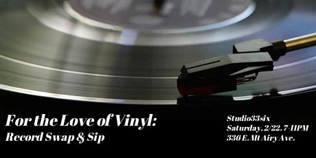 For the Love of Vinyl: Record Swap & Sip tickets