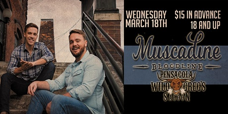 Muscadine Bloodline Live at Wild Greg's Saloon Pensacola tickets