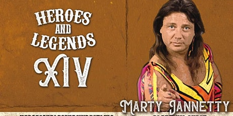 Marty Jannetty @ Heroes And Legends tickets