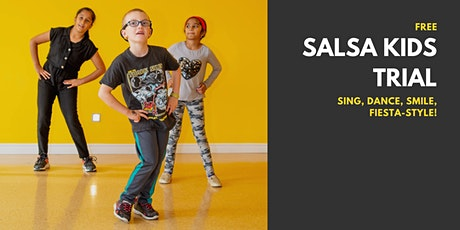 Salsa Kids - Free Trial March 28th tickets
