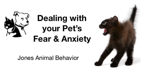 Understanding and Dealing With Your Pet's Fear tickets
