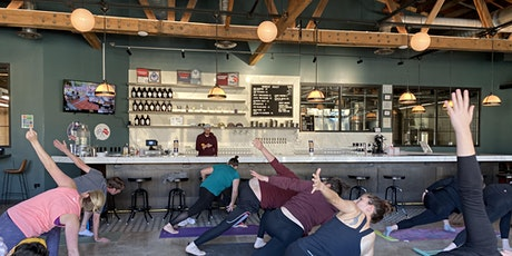 Yoga with the OMies at Midwest Coast Brewing tickets