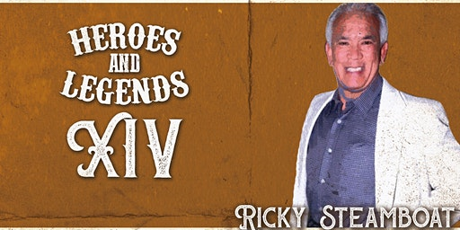 Ricky Steamboat @ Heroes & Legends Evansville March 21