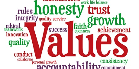 The Value of Values in Business tickets