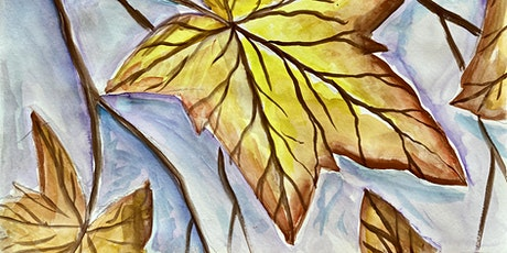 Watercolour Autumn Leaf (Dine In) tickets