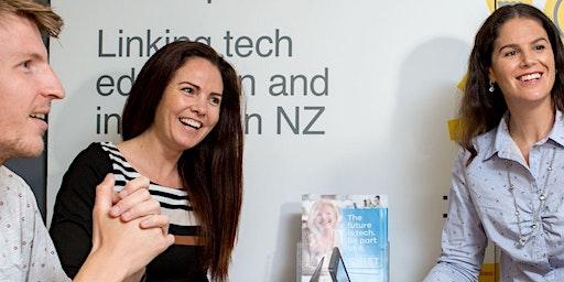 Tech Careers Pizza Night - Dunedin April 22