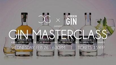 Gin Masterclass - presented by Kilderkin Distillery tickets