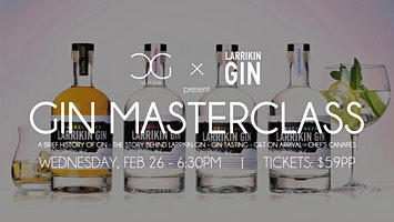 Gin Masterclass - presented by Kilderkin Distillery