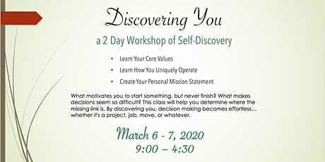 Discovering You Workshop tickets
