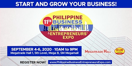 11th Philippine Business and Entrepreneurs' Expo 2020 tickets