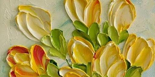 Sip N Paint - Impasto Tulips