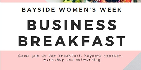 Women's Week: Migrant Women in Business Breakfast tickets
