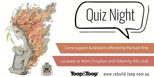 Toop&Toop Bushfire Relief Quiz Night